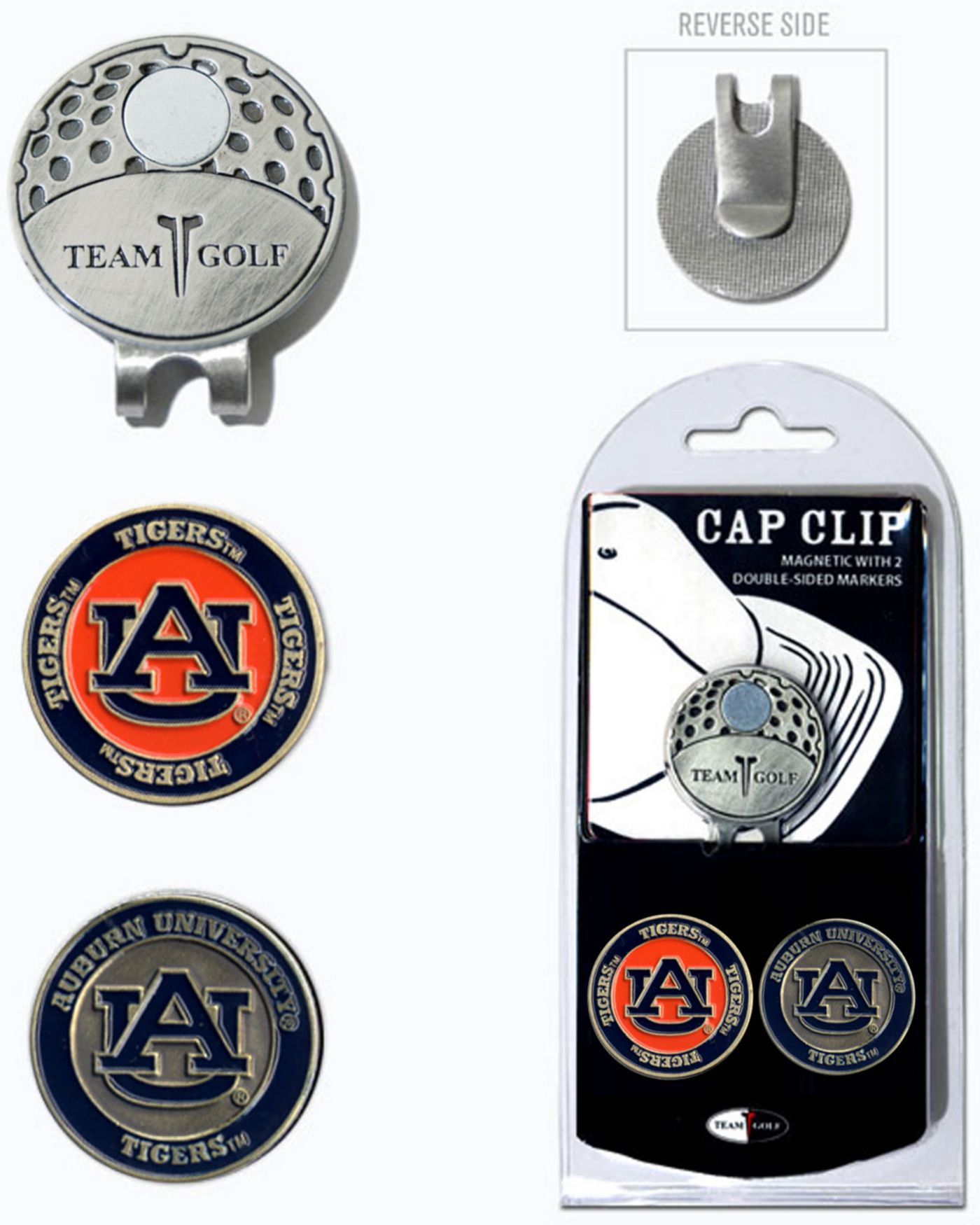 Team Golf Auburn Tigers Cap Clip