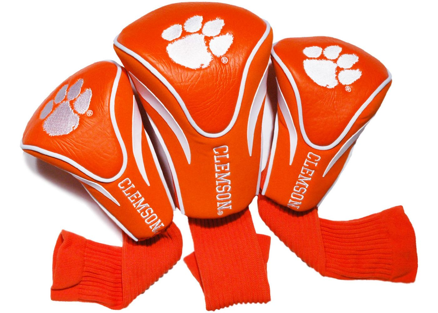 Team Golf Clemson Tigers Contour Sock Headcovers - 3 Pack