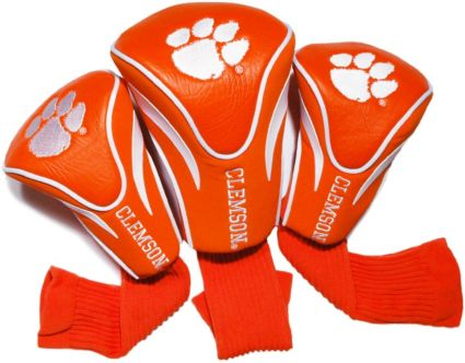 Team Golf Clemson Tigers Contour Sock Headcovers - 3 Pack