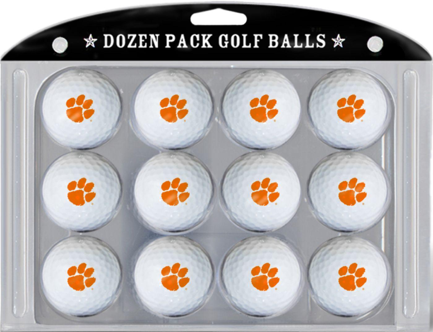 Team Golf Clemson Tigers Golf Balls