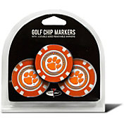 Team Golf Clemson Tigers Poker Chips Ball Markers - 3-Pack