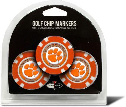 Team Golf Clemson Tigers Golf Chips - 3 Pack