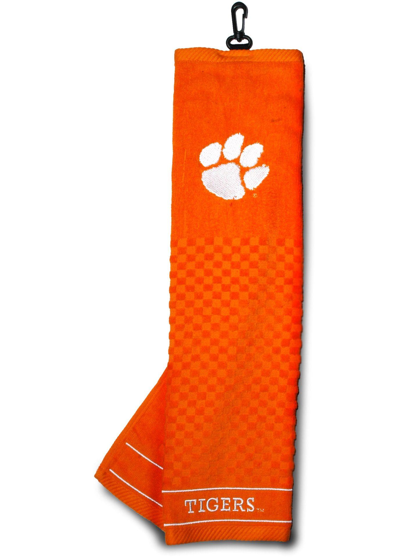 Team Golf Clemson Tigers Embroidered Towel