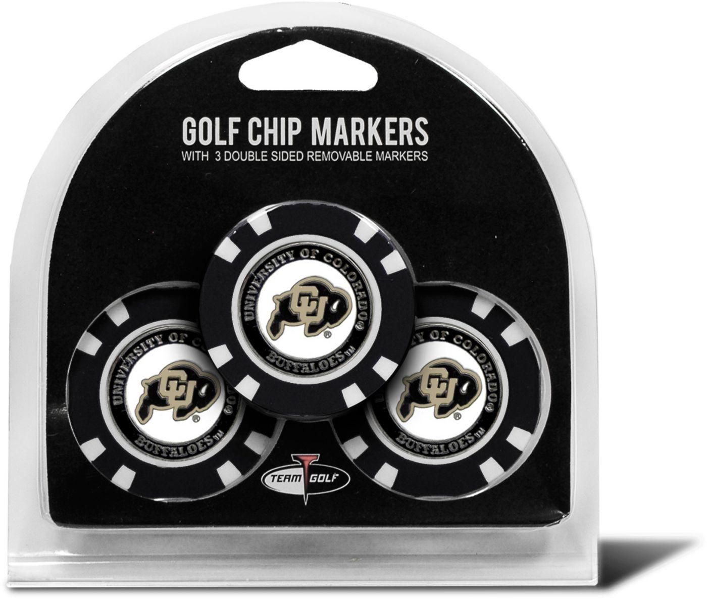 Team Golf Colorado Buffaloes Golf Chips - 3 Pack