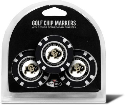 Team Golf Colorado Buffaloes Golf Chips - 3 Pack