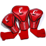 Team Golf Cincinnati Bearcats Contour Headcovers - 3-Pack