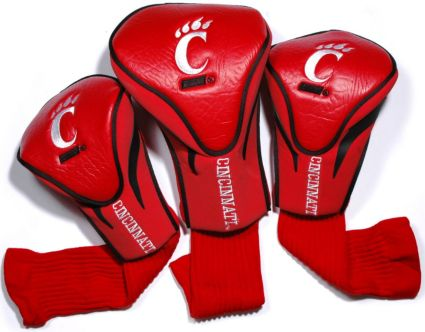 Team Golf Cincinnati Bearcats Contour Sock Headcovers - 3 Pack