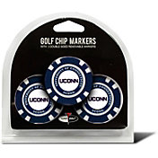 Team Golf Connecticut Huskies Poker Chips Ball Markers - 3-Pack