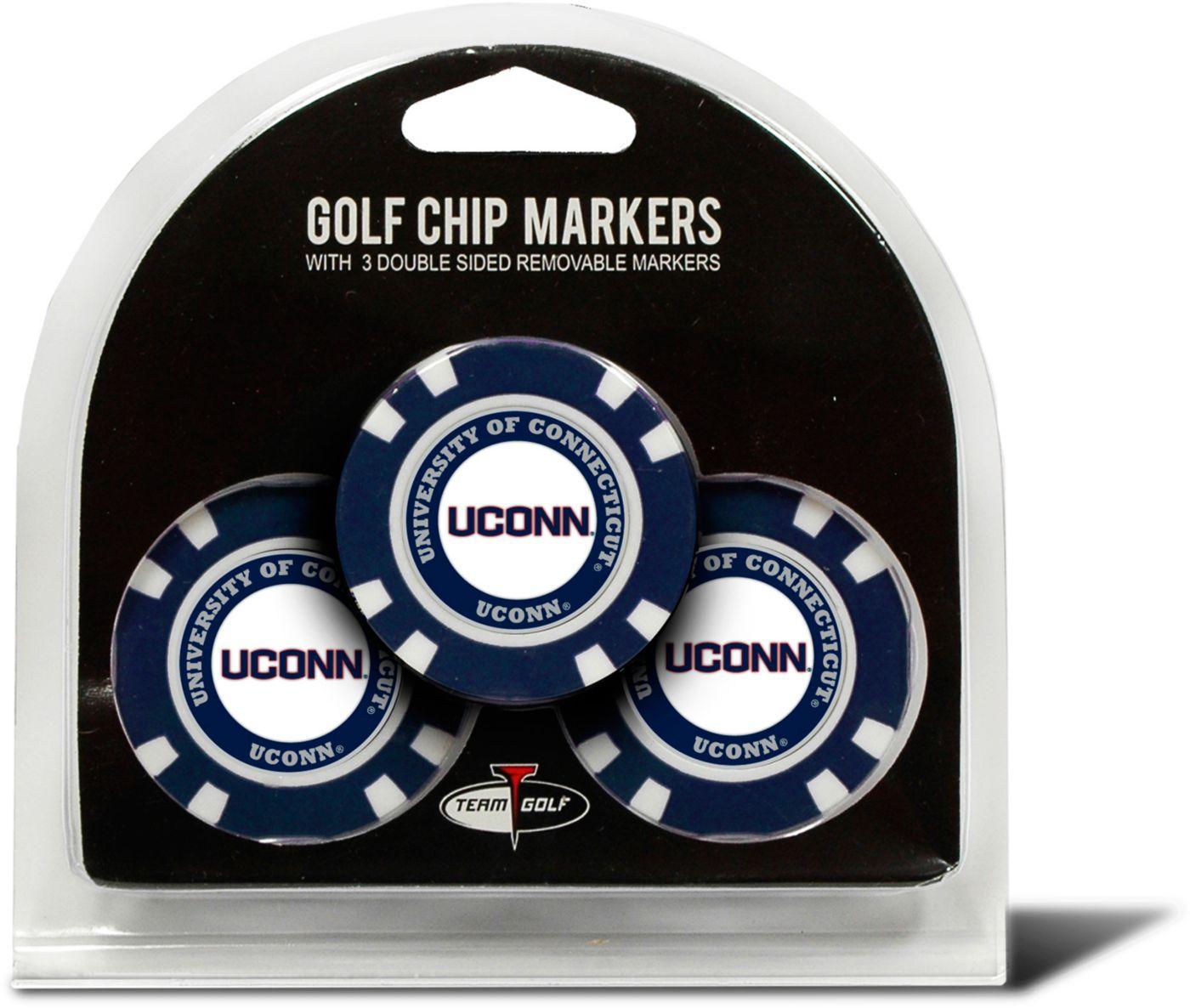 Team Golf UConn Huskies Golf Chips - 3 Pack