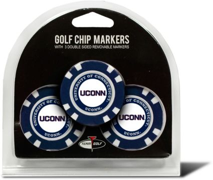 Team Golf UConn Huskies Golf Chips - 3 Pack