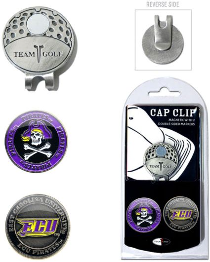 Team Golf East Carolina Pirates Cap Clip