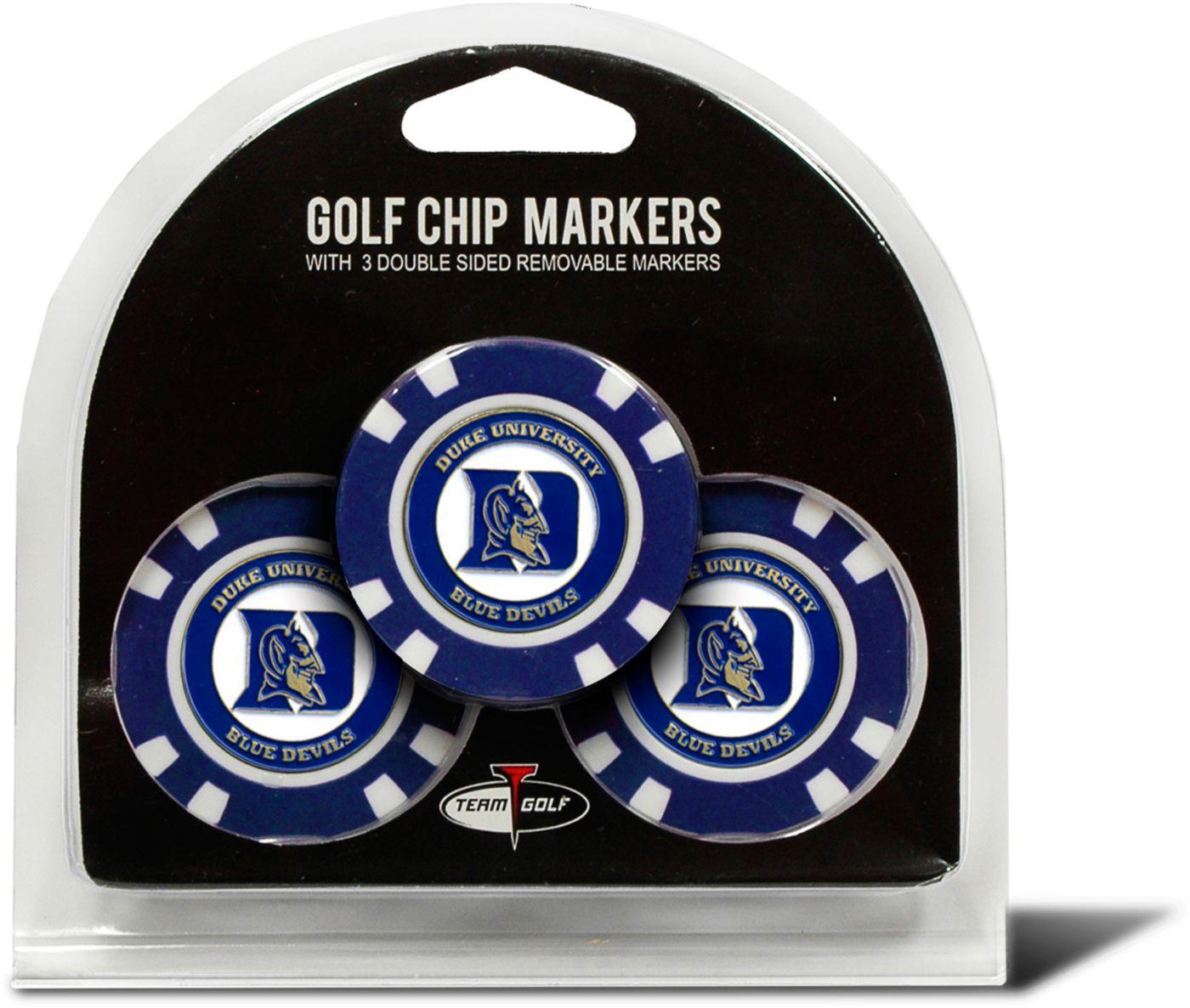Team Golf Duke Blue Devils Golf Chips - 3 Pack
