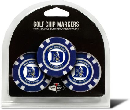 Team Golf Duke Blue Devils Golf Chips - 3 Pack