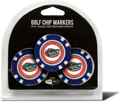 Team Golf Florida Gators Golf Chips - 3 Pack