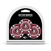 Team Golf Florida State Seminoles Poker Chips Ball Markers - 3-Pack