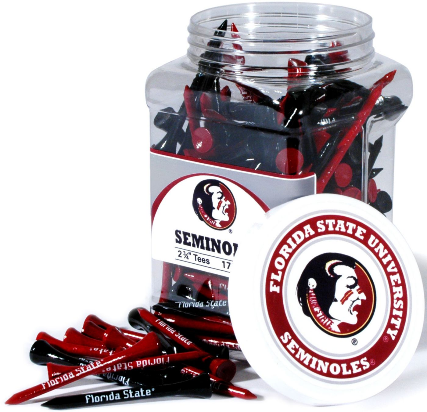 Team Golf Florida State Seminoles Tee Jar - 175 Pack