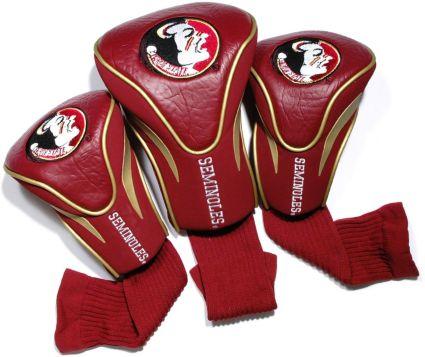 Team Golf Florida State Seminoles Contour Sock Headcovers - 3 Pack