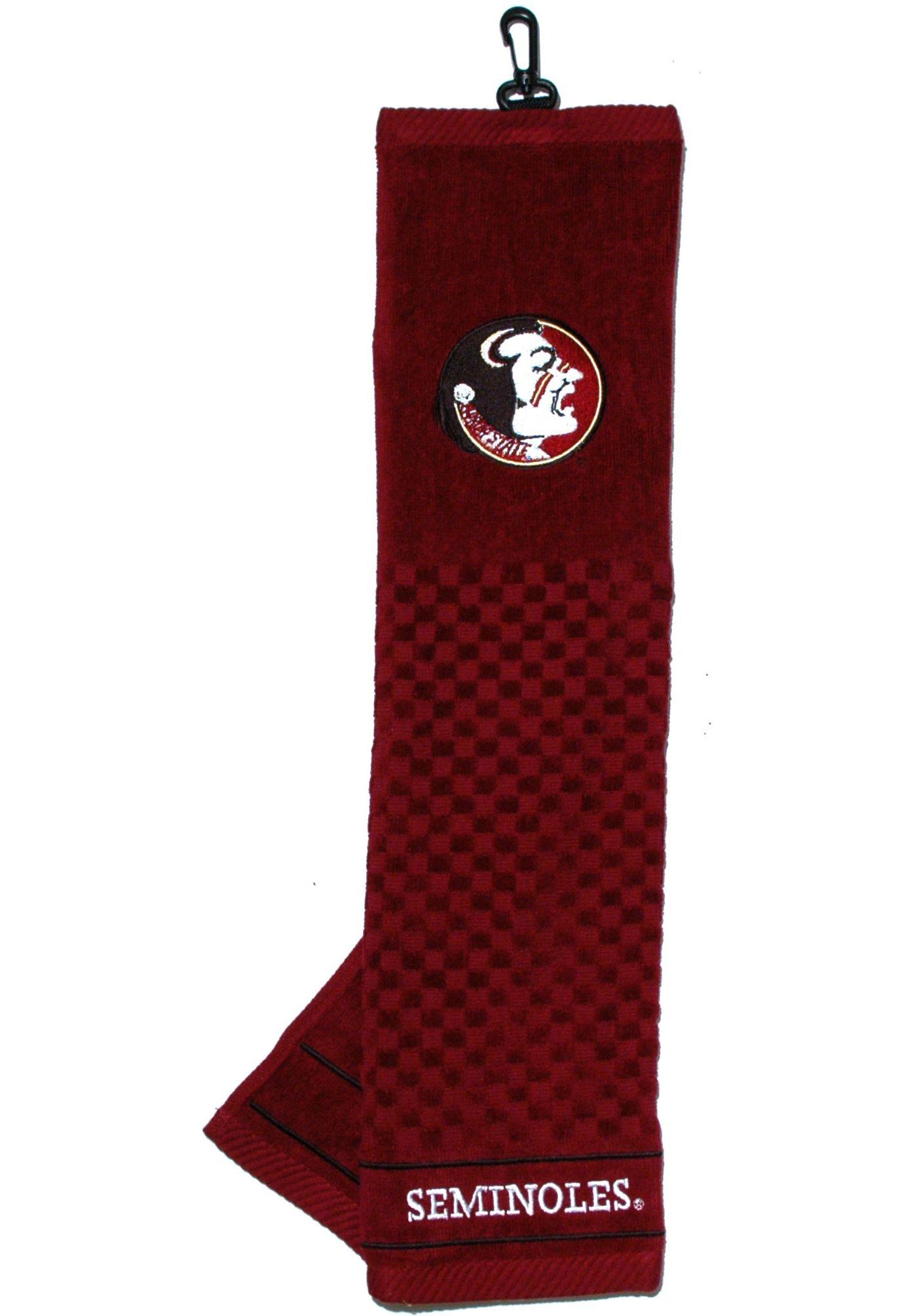 Team Golf Florida State Seminoles Embroidered Towel