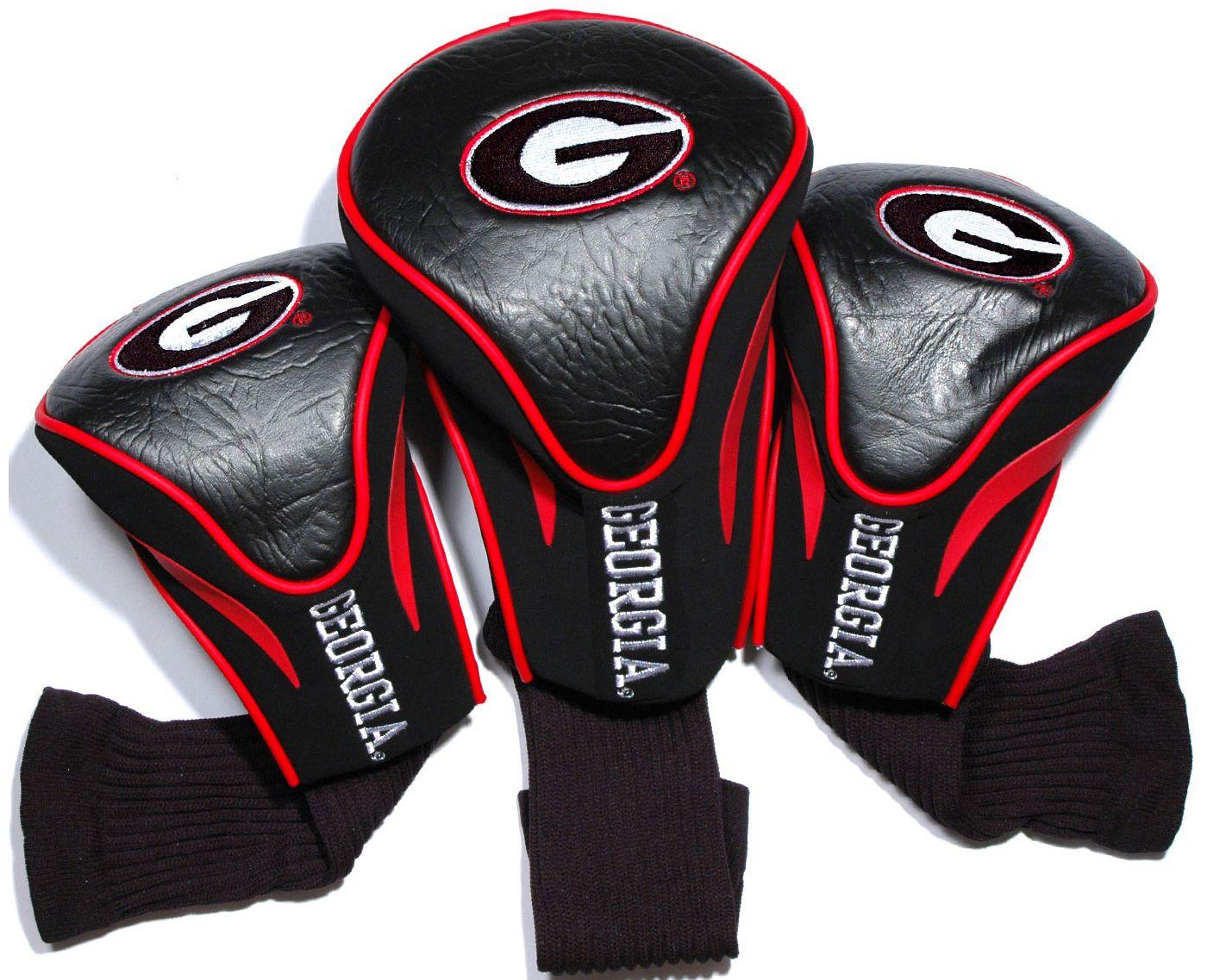Team Golf Georgia Bulldogs Contour Sock Headcovers - 3 Pack