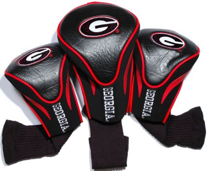Team Golf Georgia Bulldogs Contour Sock Headcovers - 3 Pack