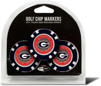 Team Golf Georgia Bulldogs Golf Chips - 3 Pack
