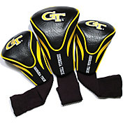 Team Golf Georgia Tech Yellow Jackets Contour Headcovers - 3-Pack