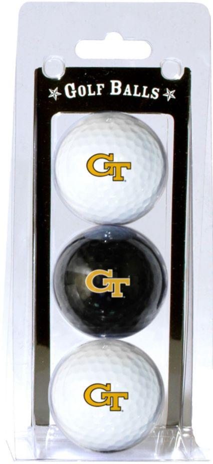 Team Golf Georgia Tech Yellow Jackets Golf Balls - 3-Pack