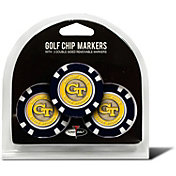 Team Golf Georgia Tech Yellow Jackets Poker Chips Ball Markers - 3-Pack
