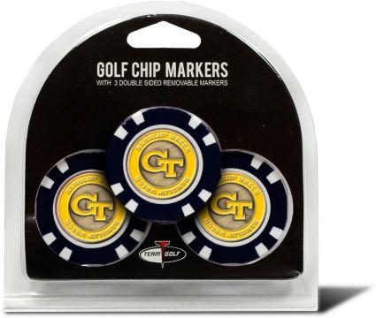 Team Golf Georgia Tech Yellow Jackets Golf Chips - 3 Pack