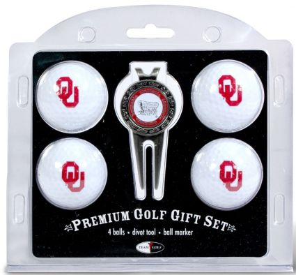 Team Golf Oklahoma Sooners Golf Ball/Divot Tool Set