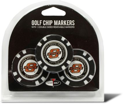 Team Golf Oklahoma State Cowboys Golf Chips - 3 Pack