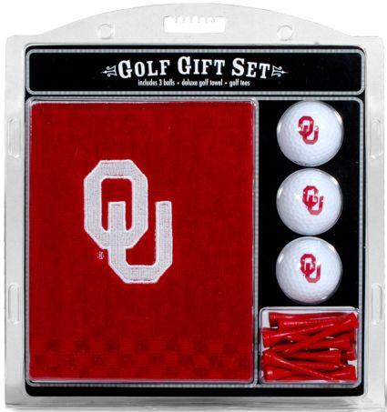 Team Golf Oklahoma Sooners Embroidered Towel Gift Set