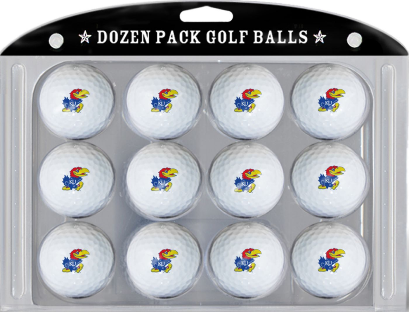Team Golf Kansas Jayhawks Golf Balls