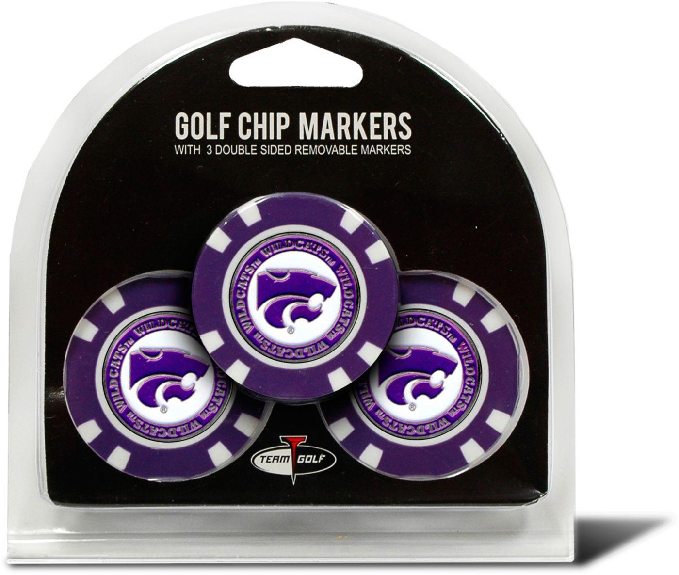 Team Golf Kansas State Wildcats Golf Chips - 3 Pack