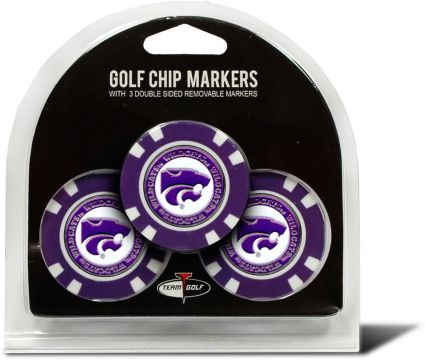 Team Golf Kansas State Wildcats Golf Chips - 3 Pack