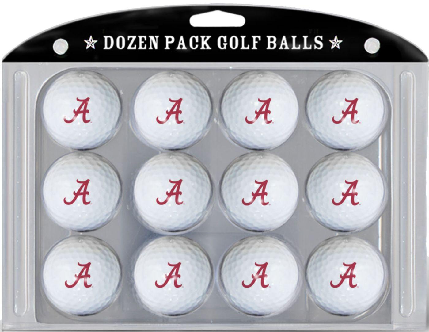 Team Golf Alabama Crimson Tide Golf Balls