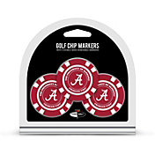 Team Golf Alabama Crimson Tide Poker Chips Ball Markers - 3-Pack