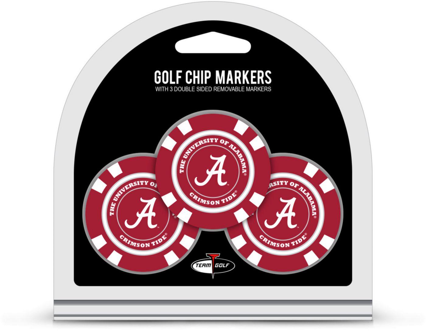 Team Golf Alabama Crimson Tide Golf Chips - 3 Pack