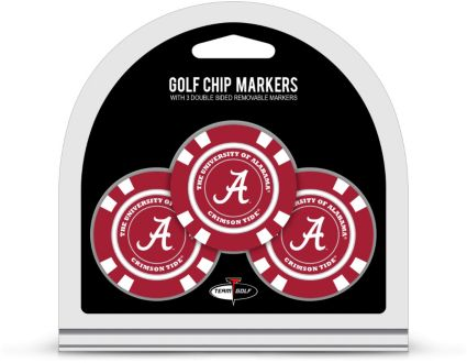 Team Golf Alabama Crimson Tide Golf Chips - 3 Pack