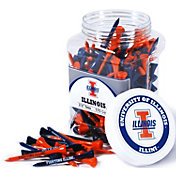 "Team Golf Illinois Fighting Illini 2.75"" Golf Tees - 175-Pack"
