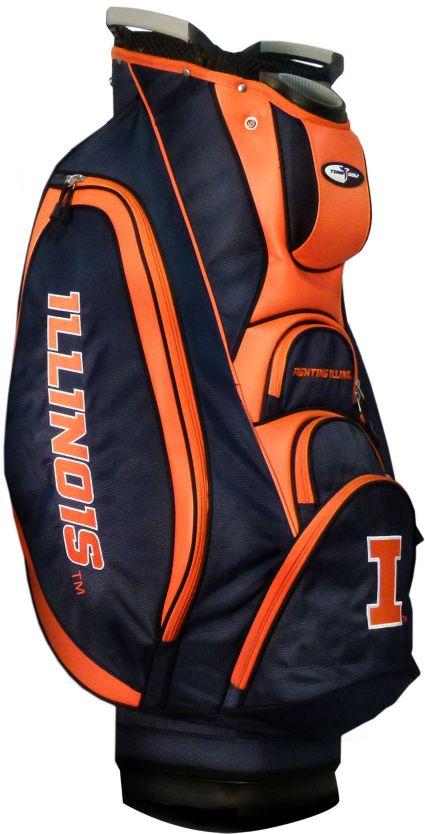 Team Golf Victory Illinois Fighting Illini Cart Bag