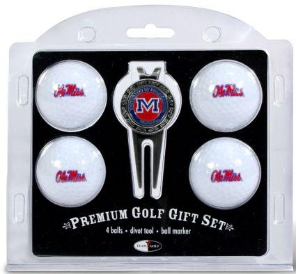 Team Golf Ole Miss Rebels Golf Ball/Divot Tool Set