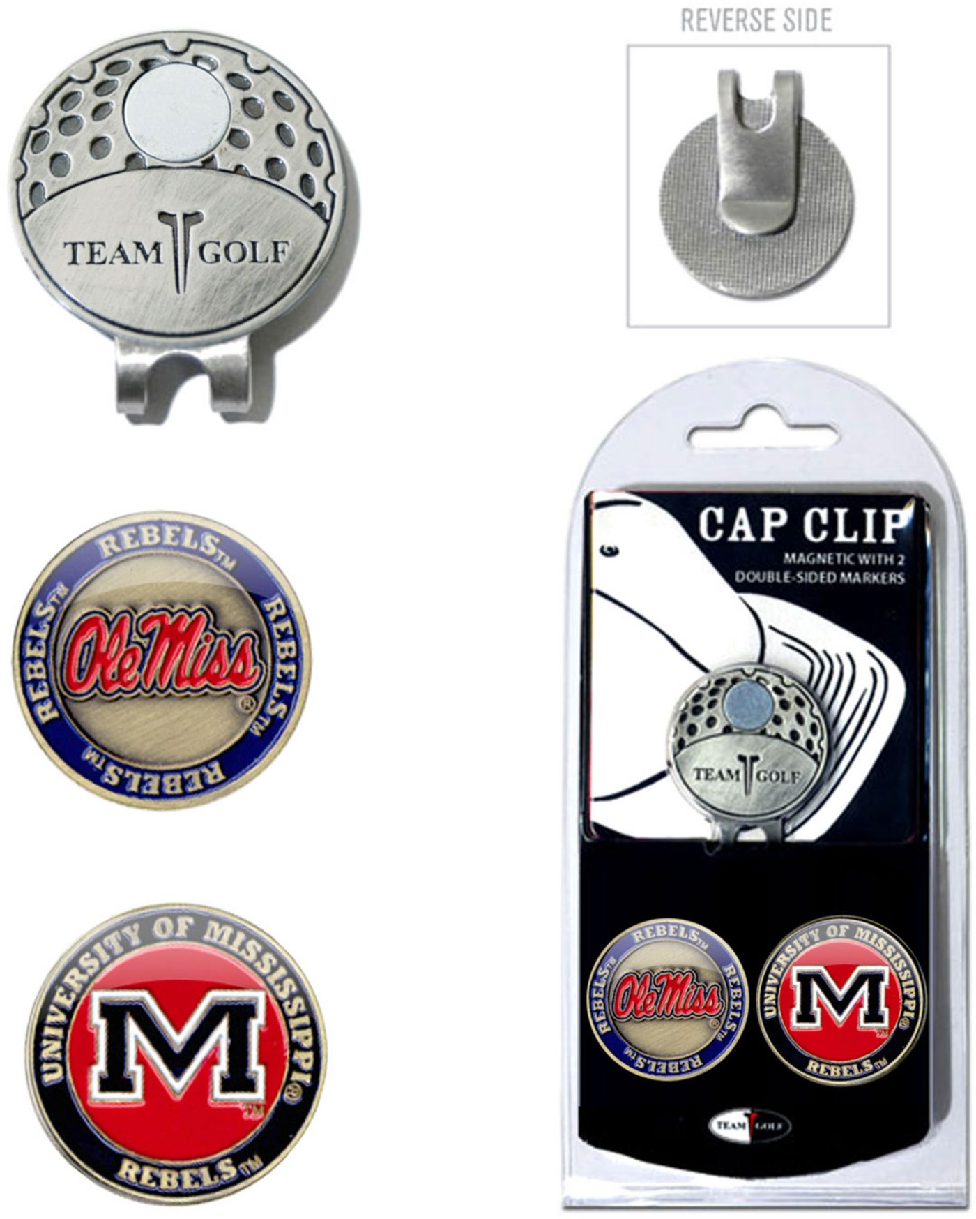 Team Golf Ole Miss Rebels Cap Clip