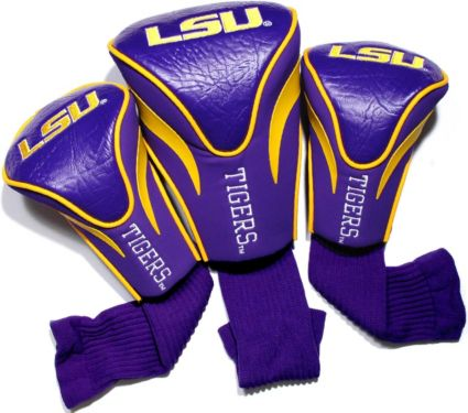 Team Golf LSU Tigers Contour Sock Headcovers - 3 Pack