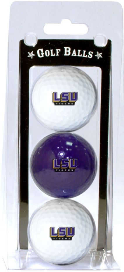 Team Golf LSU Tigers Golf Balls - 3 Pack