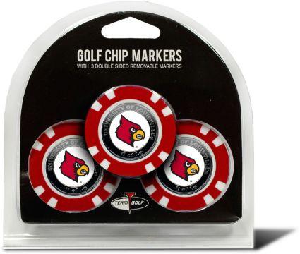 Team Golf Louisville Cardinals Golf Chips - 3 Pack