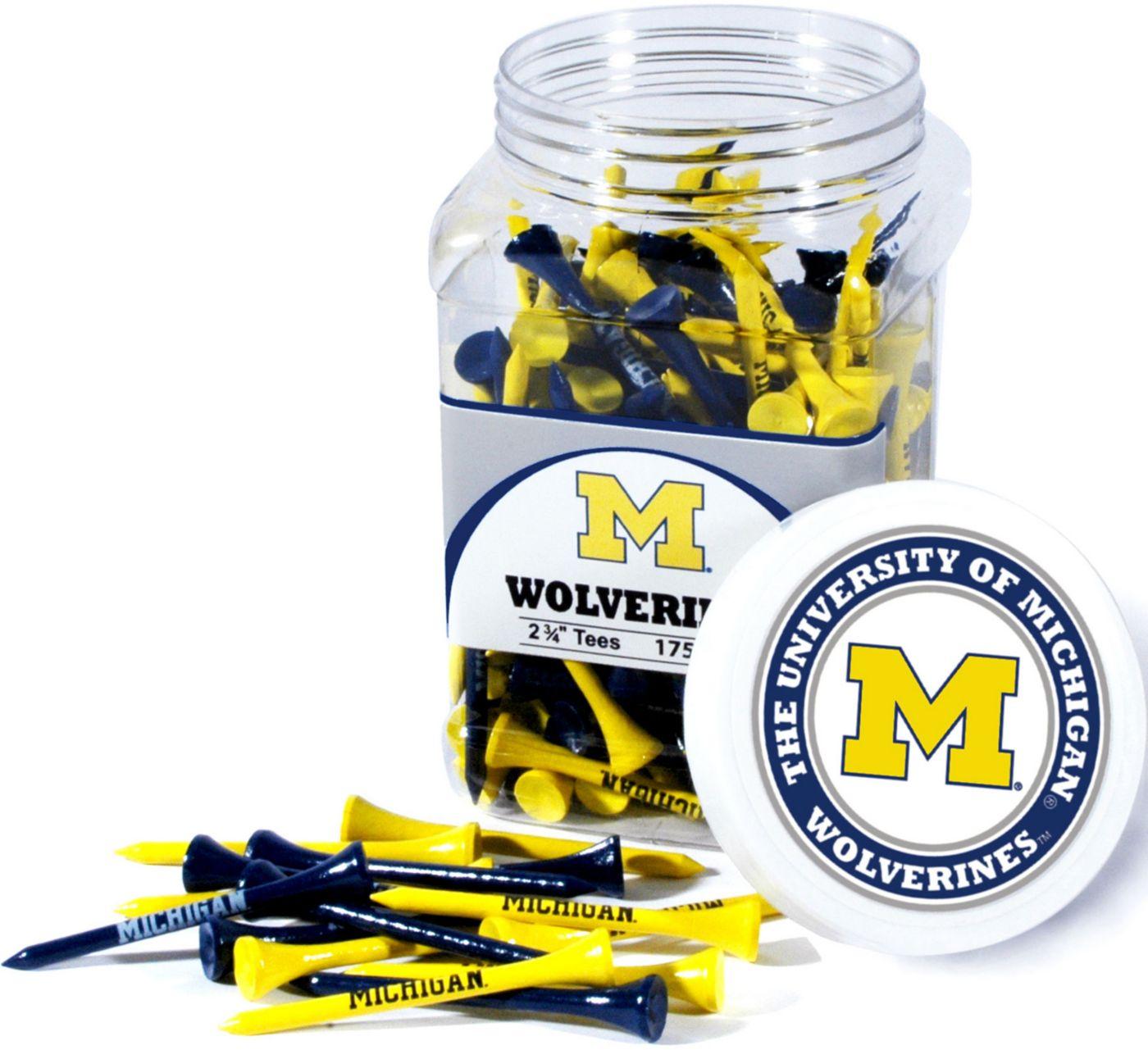 Team Golf Michigan Wolverines Tee Jar - 175 Pack