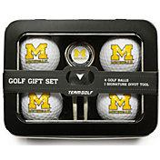 Team Golf Michigan Wolverines 4-Ball Tin Set