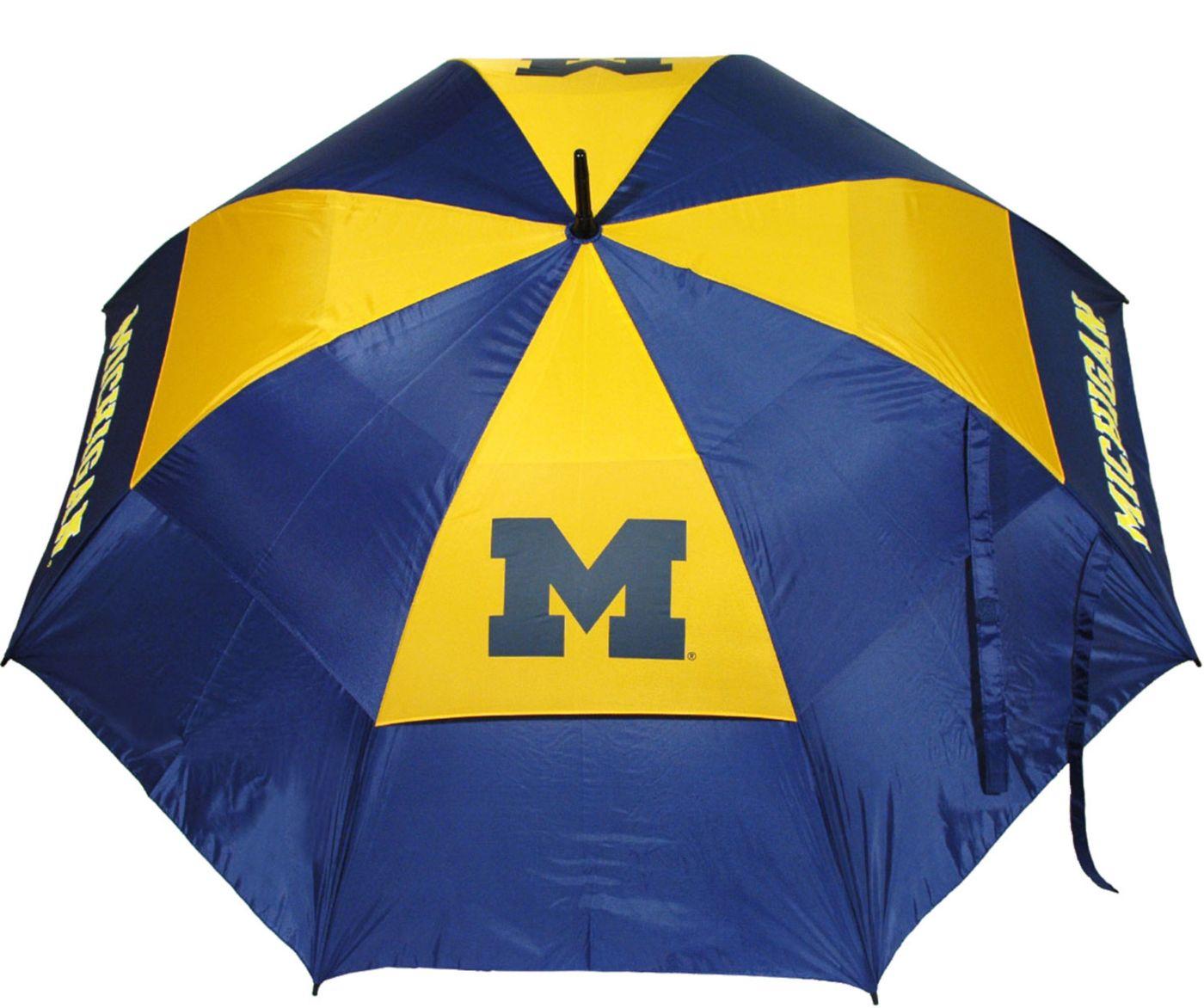 Team Golf Michigan Wolverines Umbrella