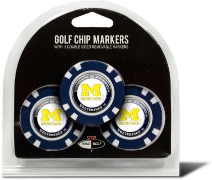 Team Golf Michigan Wolverines Golf Chips - 3 Pack